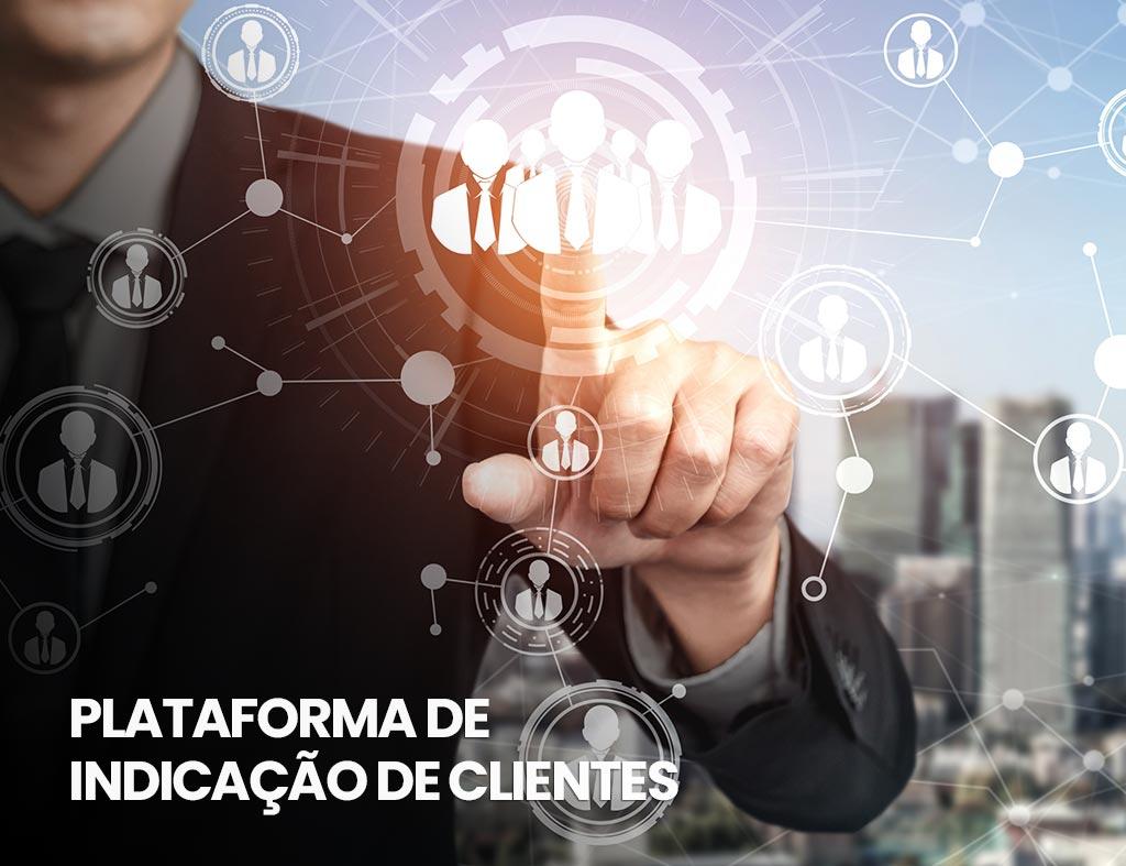 plataforma de indicação de clientes
