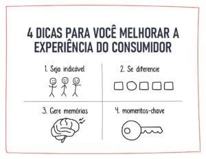 4 dicas para você melhorar a experiência do consumidor